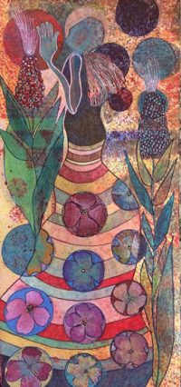 Lady Goddess Prays