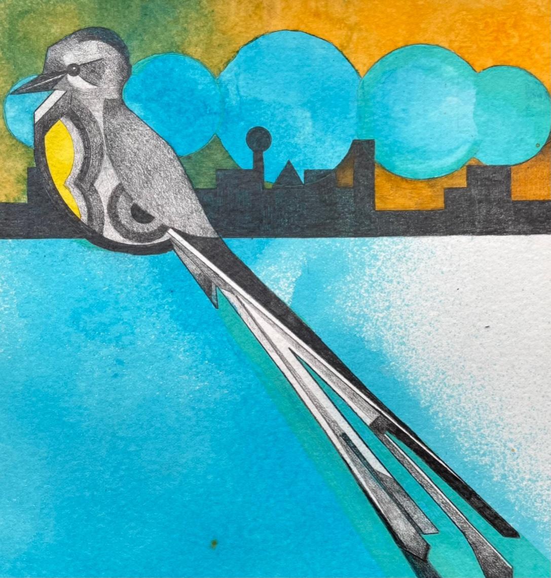 Scissor-tailed Fly Catcher